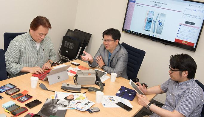 「auケータイ図鑑」で石野・石川・法林が携帯電話30年の歴史を振り返る 第2回