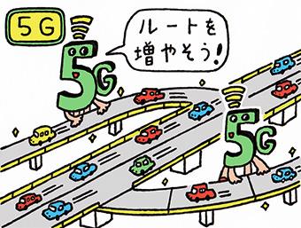 次世代通信システム「5G」で、私たちの生活はどう変わるの?