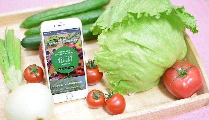 最短1時間で新鮮野菜が届く! IT時代の御用聞き『VEGERY』でおいしい野菜生活