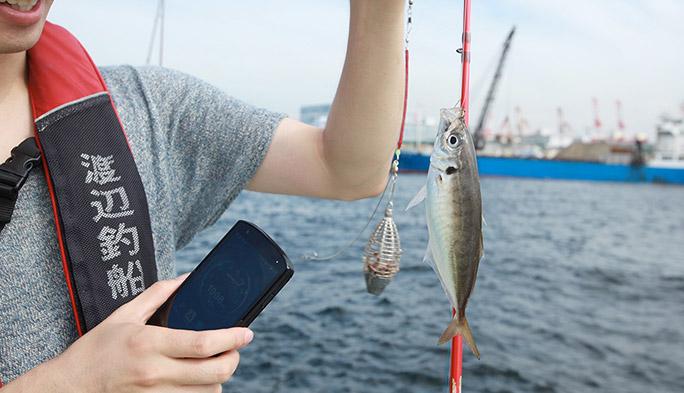 『TORQUE』と釣りアプリで爆釣りの予感! 世界初の耐海水防水端末とアプリによる、最強のフィッシングギアが完成