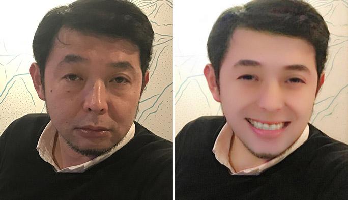 女子に人気の美肌アプリをオッサン(47)で試してみた!