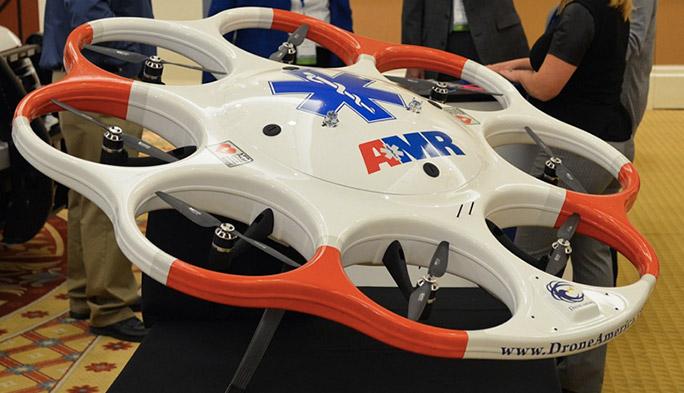 【世界のドローン9】将来は警察犬代わりに?『DAx8 RC UAV』