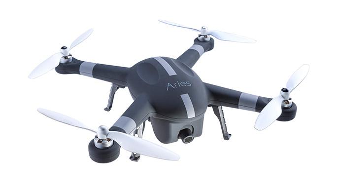 【世界のドローン15】世界最大の撮影機材専門店のお墨付き! 安定した撮影機能を持つ撮影用ドローン『The Aries Blackbird X10』