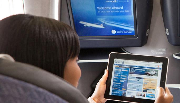 米航空会社でWi-Fiサービス競争勃発?