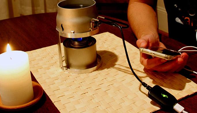 まさかの停電時、お湯を沸かしてスマホの充電もできる強い味方