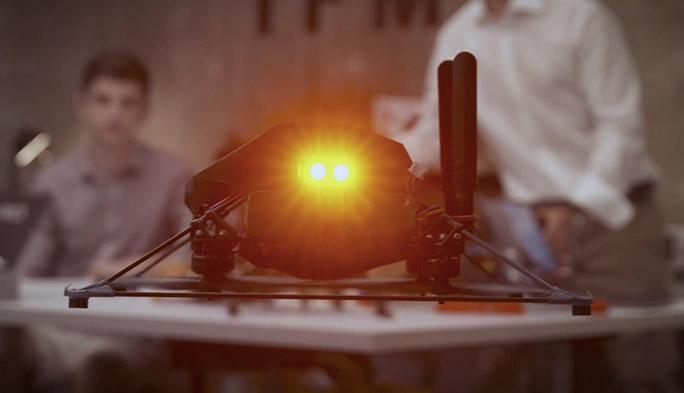 【世界のドローン42】最新のロボティクス技術を搭載したインドア専用ドローンを開発する「IFM」