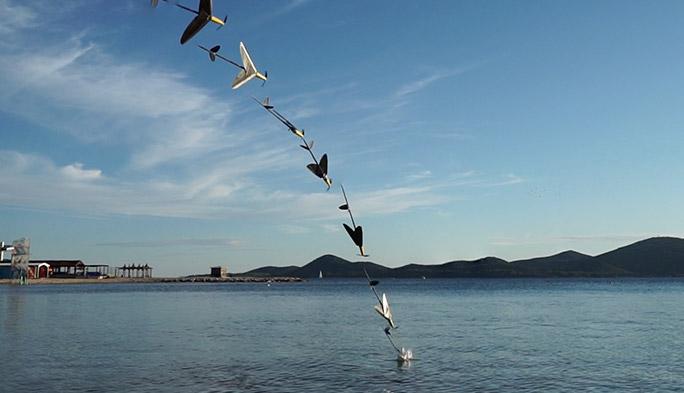 【世界のドローン54】カツオドリのように空から水中の獲物をキャッチする、空飛ぶロボットのプロジェクトが進行中