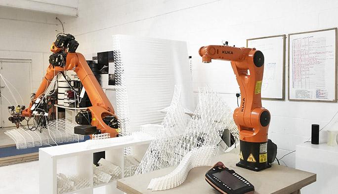 """建築家の夢を現実にする""""AI+3Dプリンター建築""""の実力やいかに"""