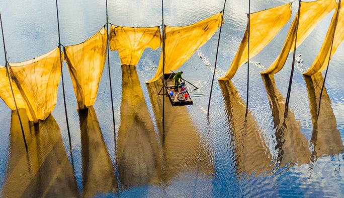 ドローンのフォトコンテスト「SkyPixel Photo Contest」の受賞作品が美しすぎる!