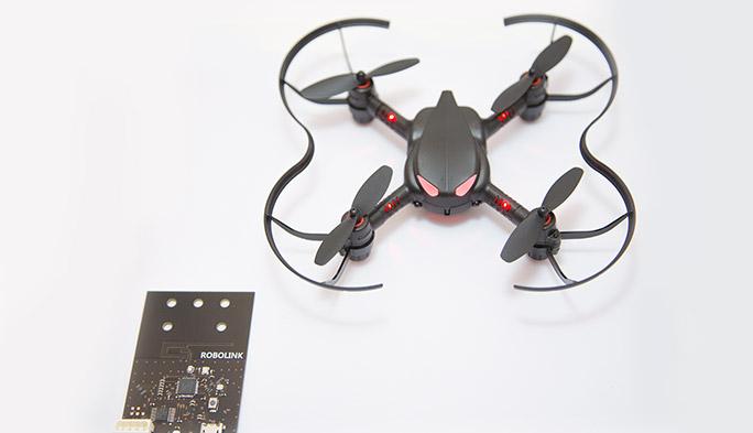 【世界のドローン58】ARにも対応! 進化したプログラミングでドローンの飛ばし方が学べるミニドローン