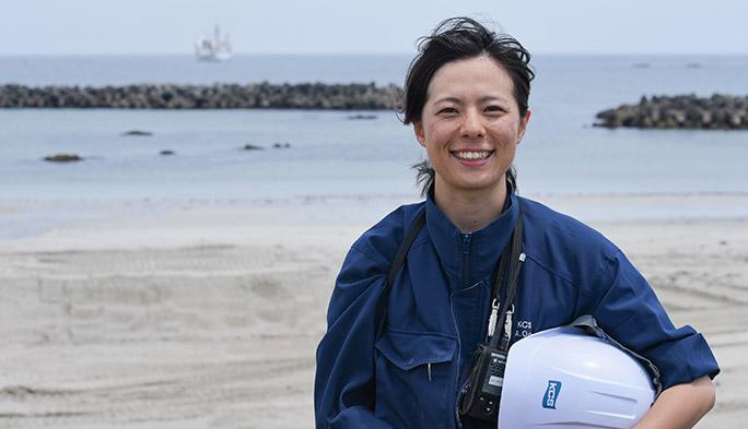 """「""""海上""""が勤務地です!」。光海底ケーブル敷設で世界の通信網を支える"""