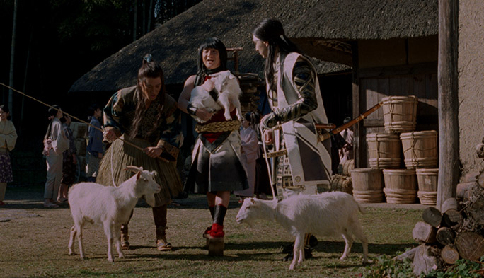"au三太郎がケンカ? もらえるのはヤギ......ではなく""25歳までず〜っと5ギガ""です"