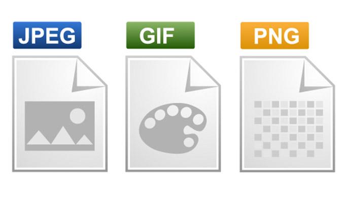 JPEG、JIF、PNGアイコン