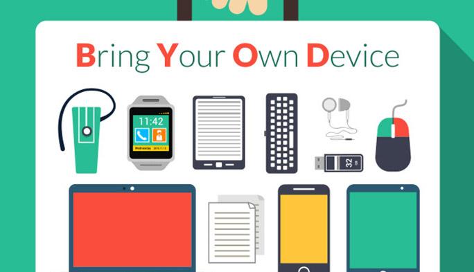 逆に、個人のPCを会社に持ち込んで仕事に使う「BYOD」がトレンドに。・・・・・・大丈夫?