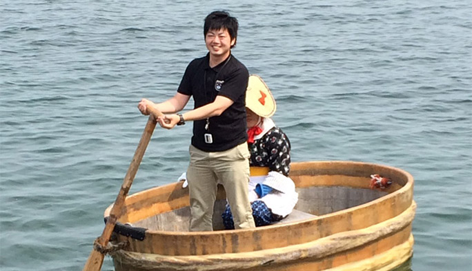 佐渡島への愛が熱すぎる! たらい舟操縦士の資格を持つ男に会ってきた
