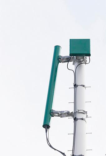【変わりダネ基地局探訪記 その3】 トリコローレ・イタリアーノに彩られた基地局を訪ねて