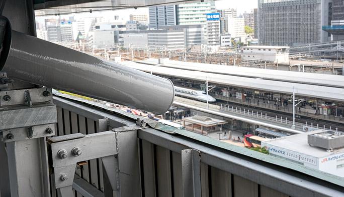 【基地局探訪記 その5】名古屋駅を狙い撃ちする『バズーカ』の威力