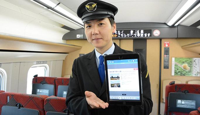 新幹線のポテンシャルを高める、iPadを駆使した新サービス
