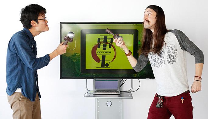 【検証】「けん玉」がIoTで『電玉』に進化! アメリカ人トップ・プレイヤーを召還して開発チームがガチバトル