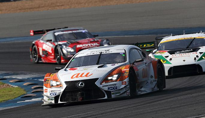 国内最高峰のレース「SUPER GT」。LEXUS TEAM TOM'Sを支えているのは「通信のチカラ」でした