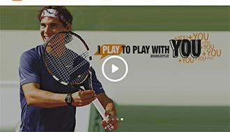 プレイ内容を記録してくれるテニスラケット