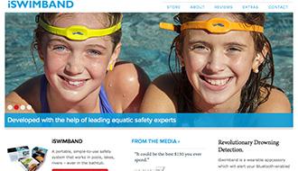 ヘッドバンドで水難事故を予防