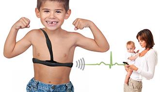 子どもの発作を検知して知らせてくれるウエアラブルデバイス