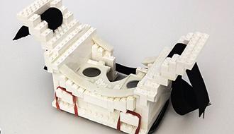 レゴと3Dプリンターのハイブリッド型プロトタイプ開発システム