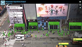 街をゆく人の動きをソーシャルなライブカメラで分析