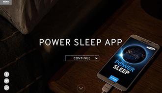 寝ている間に、スマートフォンで病気の治療研究に貢献