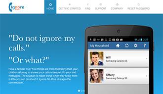 子どもに電話を無視される母親からの逆襲──「電話に出なさい」アプリ