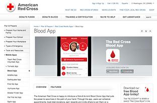 アプリで献血を楽しみに変える