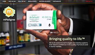 偽造薬と闘うモバイルアプリ