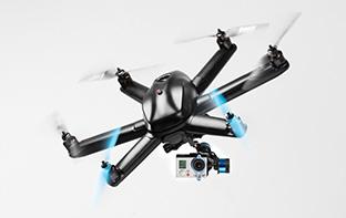 世界のドローン2 いよいよ来年発売。自動追尾して空撮してくれるインテリジェントドローン HEXO+