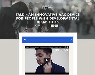 声で話せない人のために16歳の少年が開発。息をモールス信号にして話すデバイス