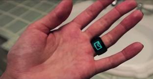 着信通知を指輪で確認! リング型ウエアラブルデバイス「MOTA Smart Ring」