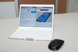 """au新モデル「GALAXY Tab S」 スマホとパソコンの""""イイとこどり""""の一台"""
