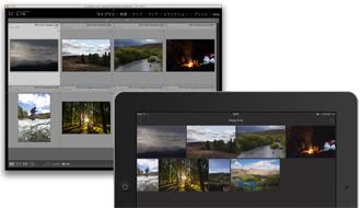 プロのカメラマン御用達? iPadを使ってどこでも画像の編集、整理、共有ができる「Adobe Lightroom mobile」