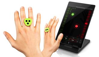 【まるで魔法】iPhone/iPadを触れずに操作する『iRing』が発売