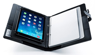 アナログとデジタルの融合 システム手帳とタブレットホルダーの一体型ケースを使いこなせ