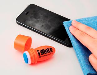 気になるスマホ画面の指紋は、タッチパネルのコーティング剤で解消!