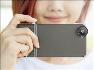 デジカメよりも高画質な写真が撮れる! レンズ付きiPhone専用ケースが、間もなく一般販売開始