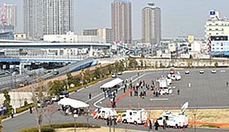 3.11を前に首都圏直下型地震を想定した模擬訓練を実施