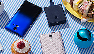 auスマートフォン 2013夏モデル登場に合わせて専用アクセサリー au+1 collectionに新作続々