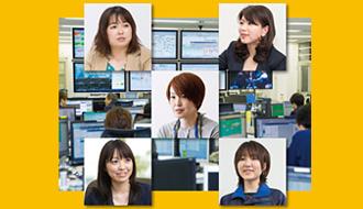 通信の信頼性を支える女性たち 第3回: 世界中のネットワークトラブルを解決に導く縁の下の見守り役