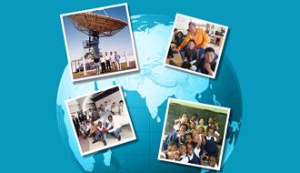 情報通信技術を世界に広げる KDDIの国際貢献活動