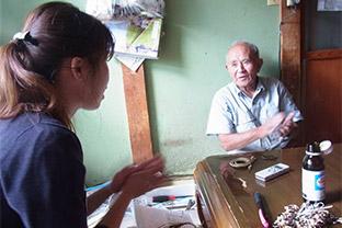山村の人々に学生が聞き書きした記録が電子書籍『ブックパス』で無料配信。今年は被災地の漁村での聞き書きの旅を実施